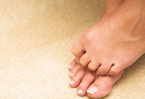 Чешутся пальцы ног